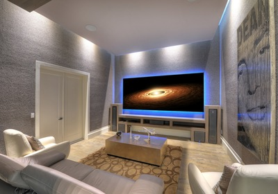 Movie Room Inspiration from Your Custom Home Builders in Volusia County FL